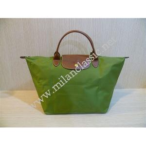NEW - Longchamp Le Pliage Medium Short Handle Apple Green