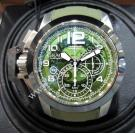 SOLD-NEW - Graham Chronofighter Oversize Target Skeleton Green Dial Chrono Auto 47mm(With Card + Box)