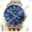 Maurice Lacroix-Pontos Day Date Blue Dial Auto S/S 40mm (With Box + Card)