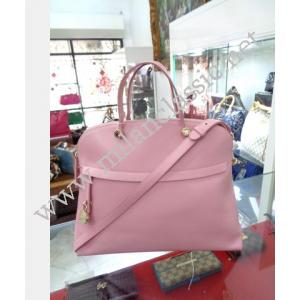 Furla Pink Leather 2-Way Bag