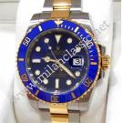 SOLD-Rolex 116613LB Submariner Blue Dial Blue Ceramic Bezel Auto 18K/SS 40mm (With Box)