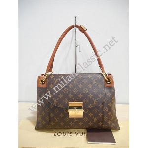 SOLD-LV Monorgam Olympe Shoulder Bag