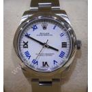 Rolex 177200 Oyster Perpetual White Roman Letter Dial Mid Size Auto S/S 31mm (With Box)