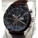 Oris Artix GT Chronograph Black Dial Auto Steel/Leather 44mm (With Box + Card)