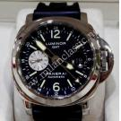 Panerai Luminor GMT Black Dial Auto Steel/Rubber 44mm