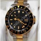 Vintage Rolex 16753 Gmt Master Auto Steel/Gold 40mm (With Box)