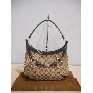 RETUNED - Gucci Brown Canvas Classic Medium Hobo