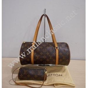 LV Monogram Papillon 30 With Pouch