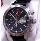 "Ball Fireman Storm Chaser Chrono Black Dial Auto Steel/Leather 43mm ""REF:CM2092C"""