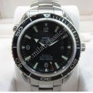 Omega Seamaster Planet Ocean Black Bezel Auto S/S 45mm (With Box)