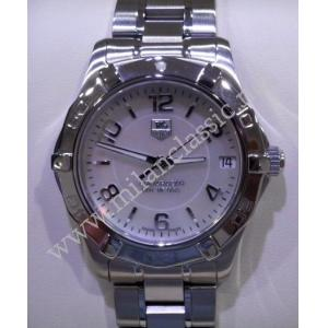 SOLD-TAG Heuer Aquaracer Mid Size Quartz M.O.P Dial S/S 34mm (With Box)