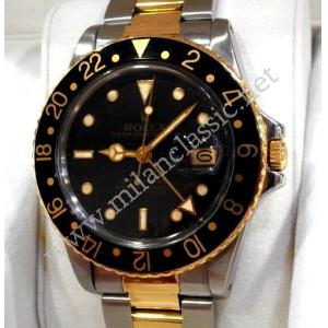 Rolex 16753 Vintage Gmt Master Auto Steel/Gold 40mm (With Box)