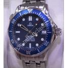 Omega Seamaster Diver Mid Size Blue Wave Dial Auto S/S 36mm (With Box)