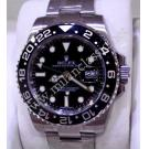 "NEW-Rolex 116710LN GMT II Ceramic Bezel Auto S/S 40mm ""Random Serial"" (With Box)"