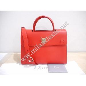 Christian Dior Ever In Red Calfskin