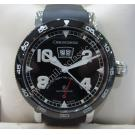 Chronoswiss Timemaster Retrograde Black Dial Auto SS/Rubber 44mm(With Card + Box)