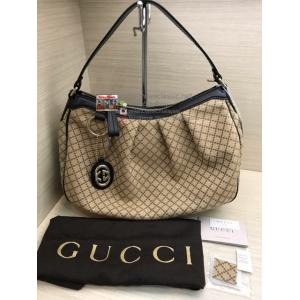 GUCCI Diamante Medium Sukey Hobo