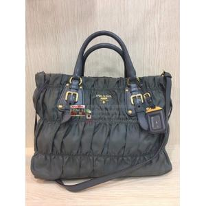 SOLD - PRADA Nylon Gaufre 2-Way Bag