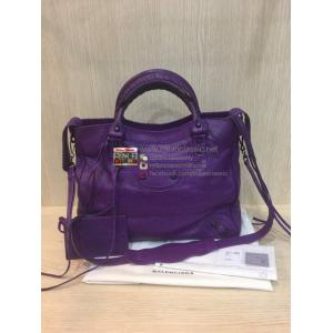 SOLD - NEW - BALENCIAGA Classic Velo Bag in Ultra Violet
