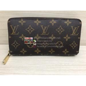 LV Monogram Zippy Wallet (Hot-Stamping Alphabet)