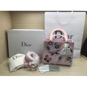 LIMITED - DIOR Lady Dior Animal Embroidery Bag