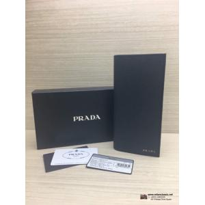 NEW - PRADA Leather Long Wallet