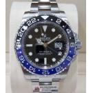 "SOLD-NEW - ROLEX 116710BLNR GMT II Blue Black Ceramic Bezel Auto S/S 40mm ""Random Serial"" (With Box + Car)"