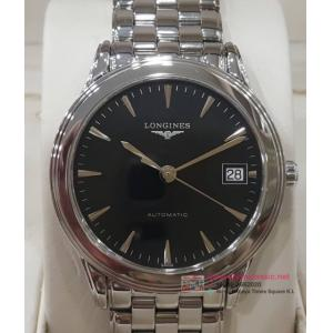 SOLD-Longines Flagship date Black Dail Auto S/S 36mm(With Box)
