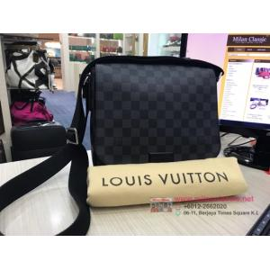 SOLD - LV Damier Graphite District PM