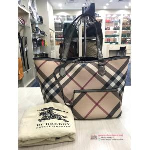 BURBERRY Waterproof Canvas Shoulder Bag With Pouch - NETT PRICE