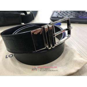 SOLD - LV Slender 35mm Reversible Men's Belt 90cm