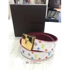 LV Multicolor White Lady Belt