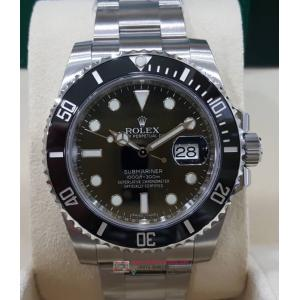 "SOLD - NEW - ROLEX 116610LN Submariner Ceramic Bezel Auto S/S 40mm ""Random Serial"" (With Box + Card)"