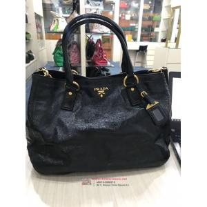 PRADA Black Leather 2-Way Bag