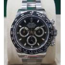 NEW - Rolex 116500 Daytona Black Dial Ceramic Bezel S/Steel Auto 40mm