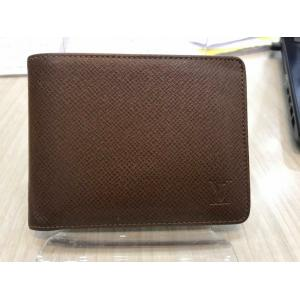 SOLD - LV Taiga Leather Multiple Wallet