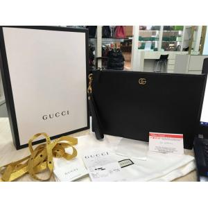 NEW - GUCCI Marmont Leather Pouch