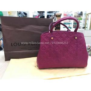 LV Monogram Empreinte Montaigne MM Raisin