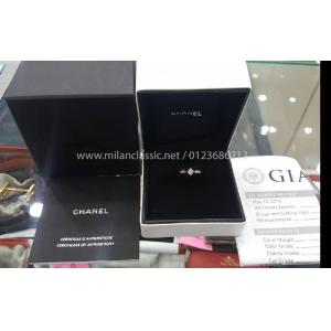 NEW - CHANEL Matelasse Collection Diamond Ring(With Card + Box + GIA Certificate)