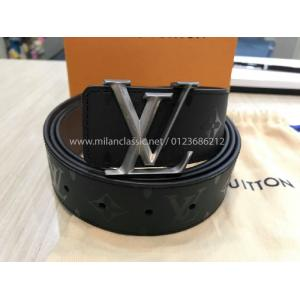 NEW - LV Maison's Monogram 40mm Pyramide Buckle Reversible Belt 110cm