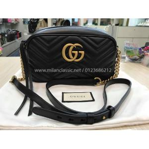 SOLD - NEW - GUCCI GG Marmont Small Matelasse Shoulder Bag