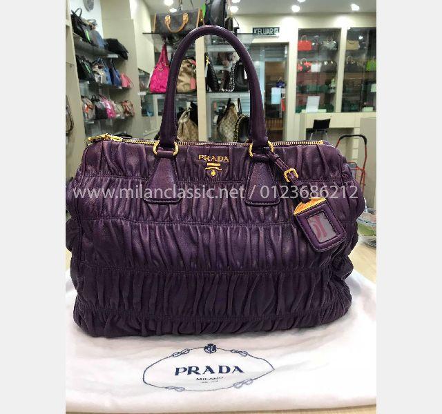8bf93ea38ae349 PRADA Violet Nappa Leather Gaufre Bag_Prada_BAGS_www.milanclassic ...