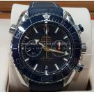 NEW - OMEGA Seamaster Planet Ocean Ceramic Bezel 600M Blue Dial S/S Auto 45.5mm(With Card + Box)
