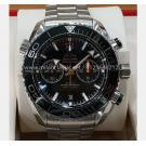 SOLD - NEW - OMEGA Seamaster Planet Ocean Ceramic Bezel 600M Black Dial S/S Auto 45.5mm(With Card + ...