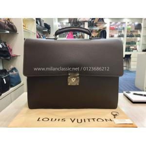 LV Taiga Leather Briefcase
