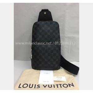 SOLD - NEW - LV Damier Graphite Avenue Sling