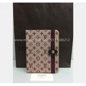 LV Monogran Mini Red Fabric Canvas Agenda
