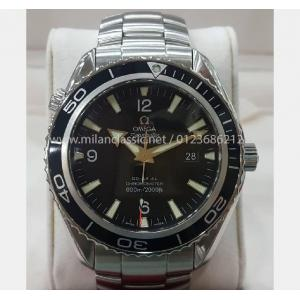 SOLD - OMEGA Seamaster Planet Ocean Black Bezel Auto S/S 45mm (With Box)