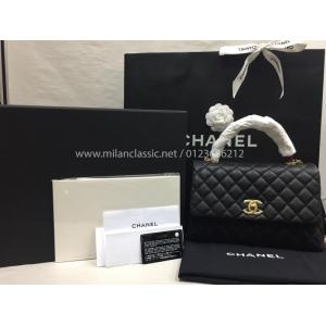 SOLD - NEW - CHANEL Flap Bag with Top Handle