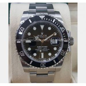 "NEW - ROLEX 116610LN Submariner Ceramic Bezel Auto ""Random Serial"" 40mm (With Card + Box )"